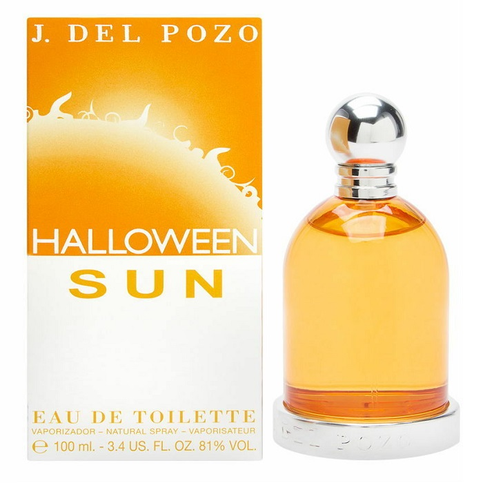 Halloween Sun Perfume by Jesus Del Pozo 3.4oz Eau De Toilette Spray for women